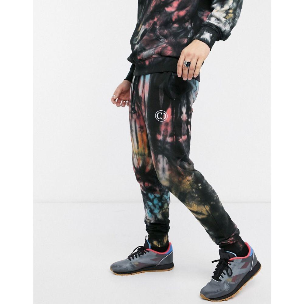 クリミナル Criminal Damage メンズ ジョガーパンツ ボトムス・パンツ【tie dye logo jogger in multi】Multi