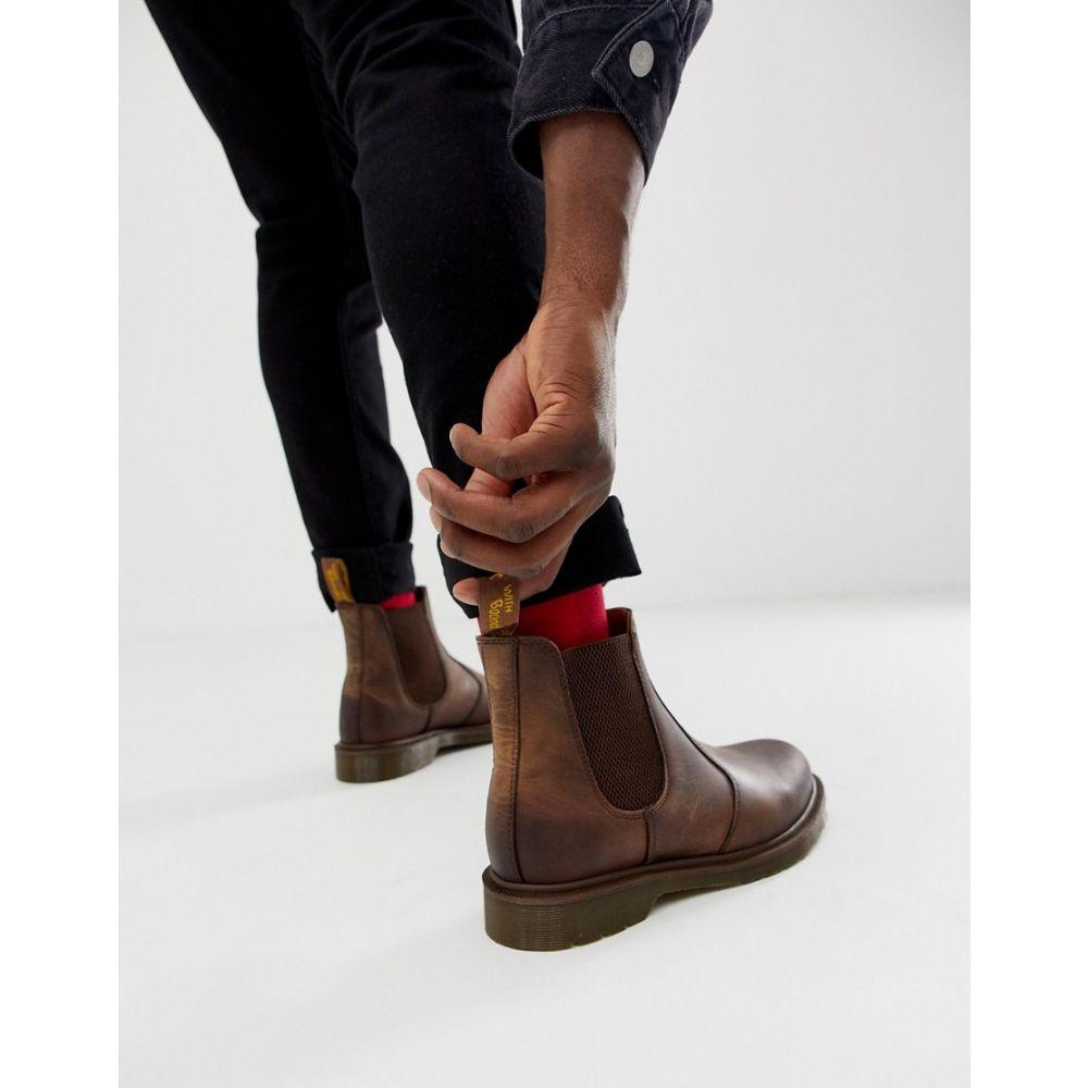 ドクターマーチン Dr Martens メンズ ブーツ チェルシーブーツ シューズ・靴【2976 chelsea boots in brown】Brown