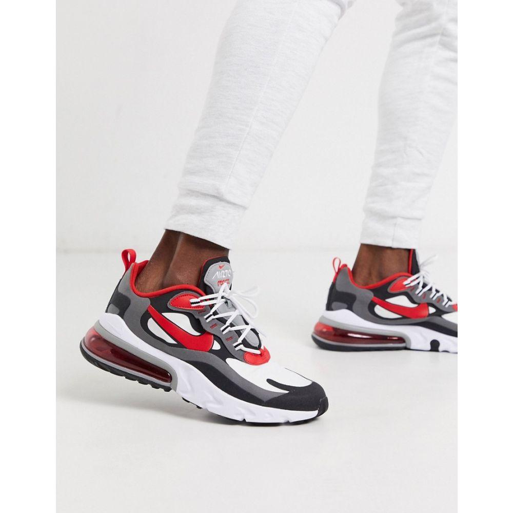 ナイキ Nike メンズ スニーカー エアマックス 270 シューズ・靴【Air Max 270 React trainers in black/red】Black/red