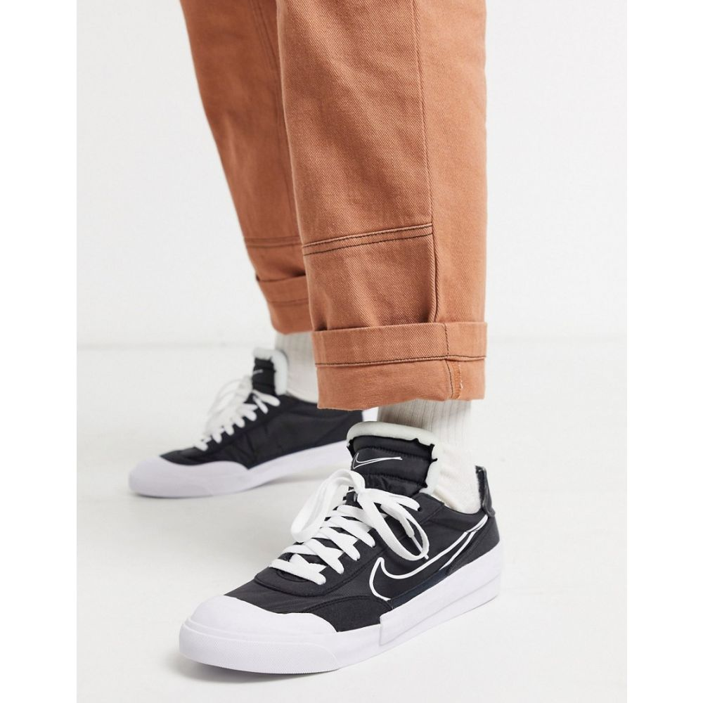 ナイキ Nike メンズ スニーカー シューズ・靴【Drop-Type trainers in black】Black