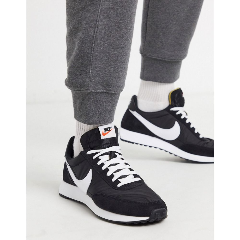 ナイキ Nike メンズ スニーカー シューズ・靴【Tailwind '79 trainers in black/white】Black/white