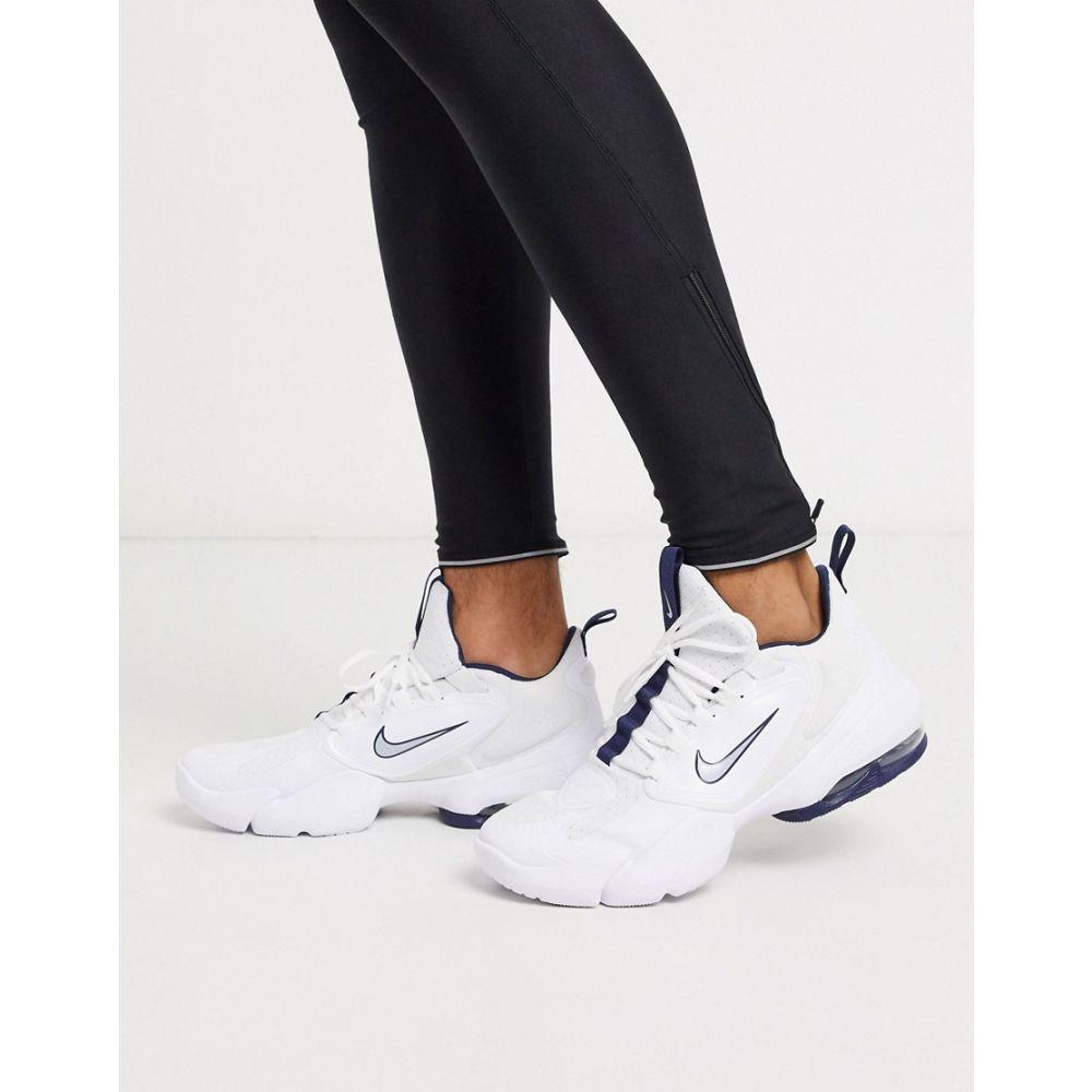 ナイキ Nike Training メンズ スニーカー シューズ・靴【Air Max Alpha Savage trainers in white】White