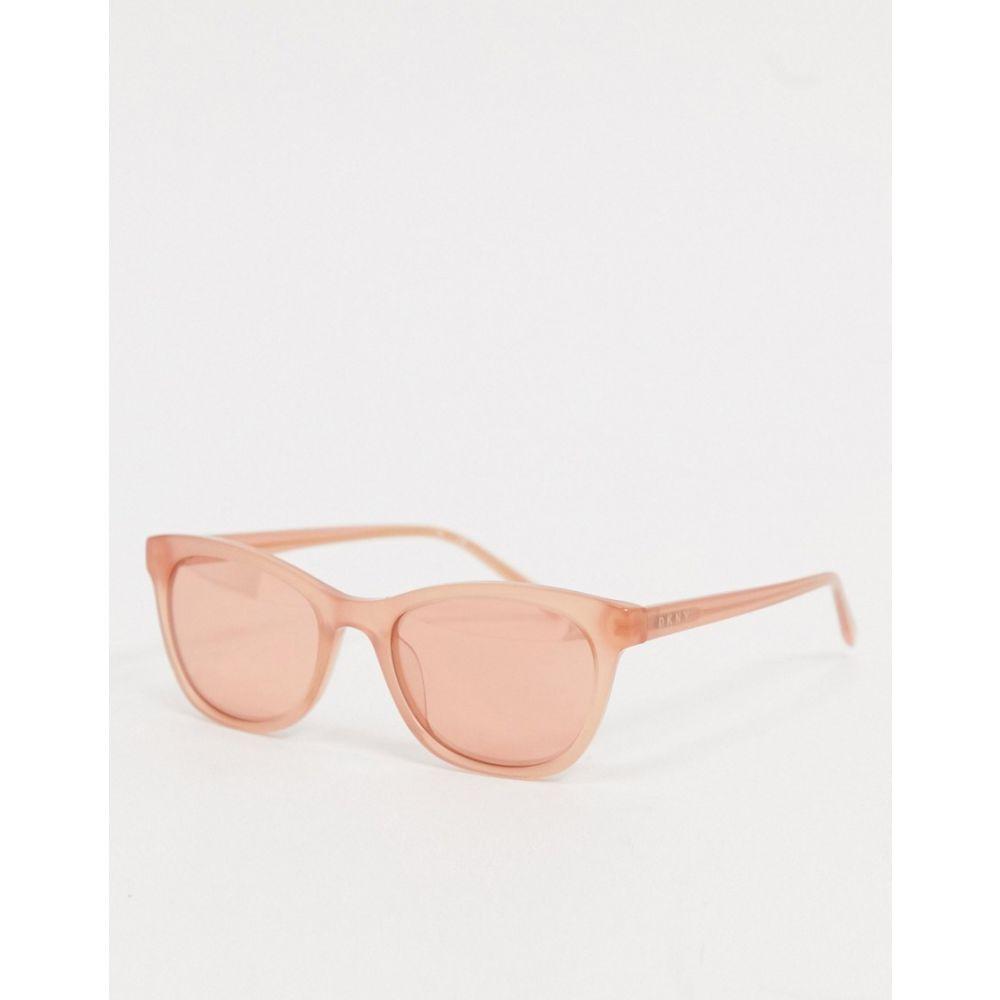 ダナ キャラン ニューヨーク DKNY メンズ メガネ・サングラス ラウンド【In Motion round sunglasses in pink】Pink