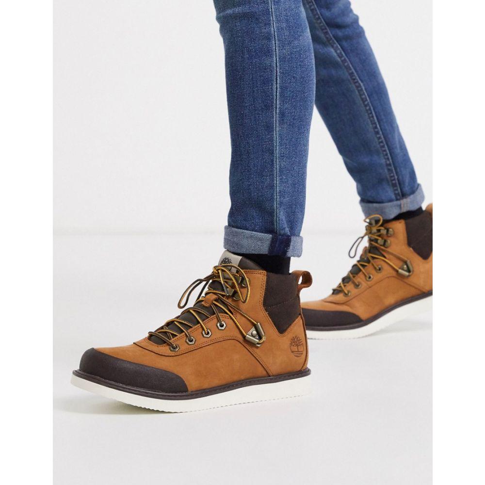 ティンバーランド Timberland メンズ ブーツ チャッカブーツ シューズ・靴【Newmarket Archive chukka in brown】Brown