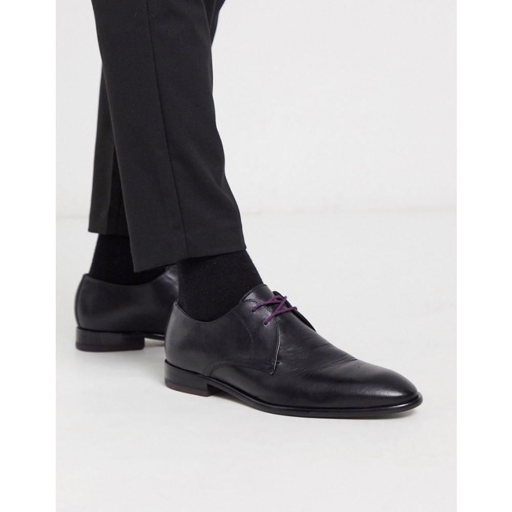テッドベーカー Ted Baker メンズ 革靴・ビジネスシューズ ダービーシューズ シューズ・靴【Sumpsa derby shoes in black】Black