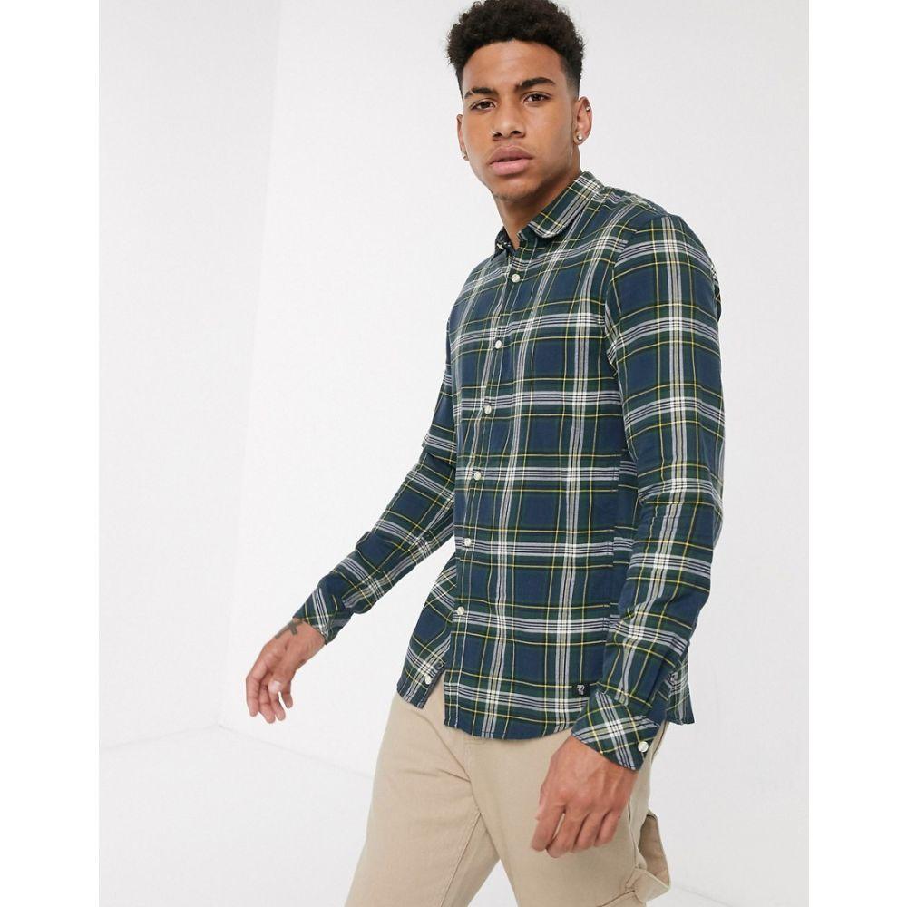 トムテイラー Tom Tailor メンズ シャツ トップス【check shirt in green】Green