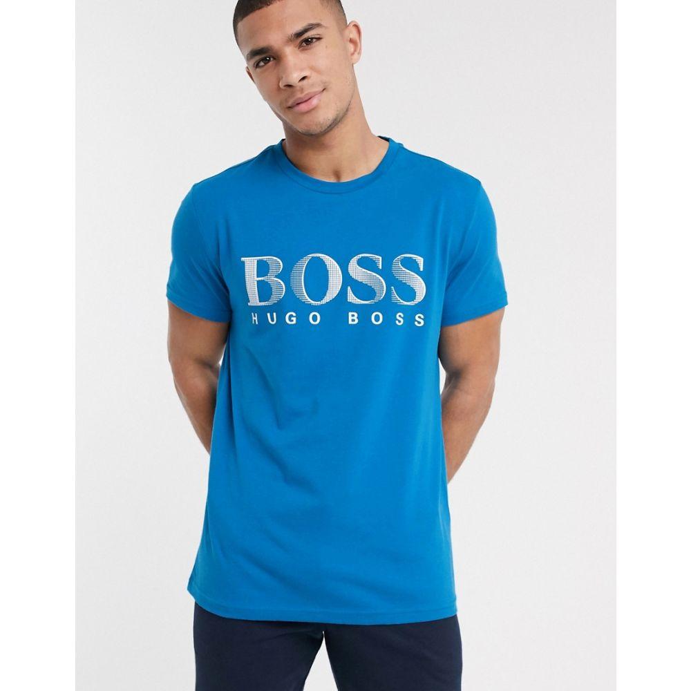 ヒューゴ ボス BOSS メンズ Tシャツ トップス【bodywear logo t-shirt in dark blue】Blue