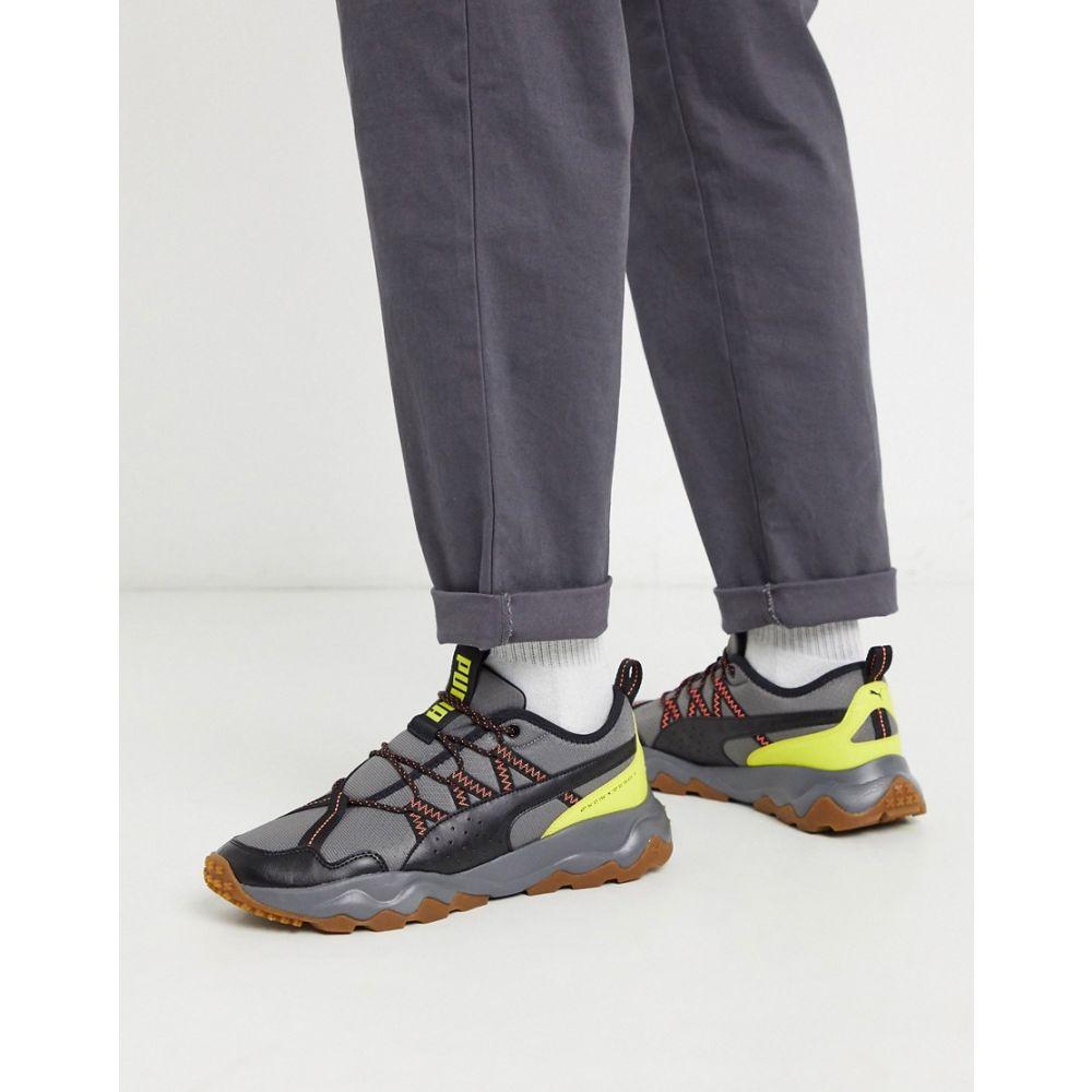 プーマ Puma メンズ スニーカー シューズ・靴【Ember Trail trainers in grey】Grey