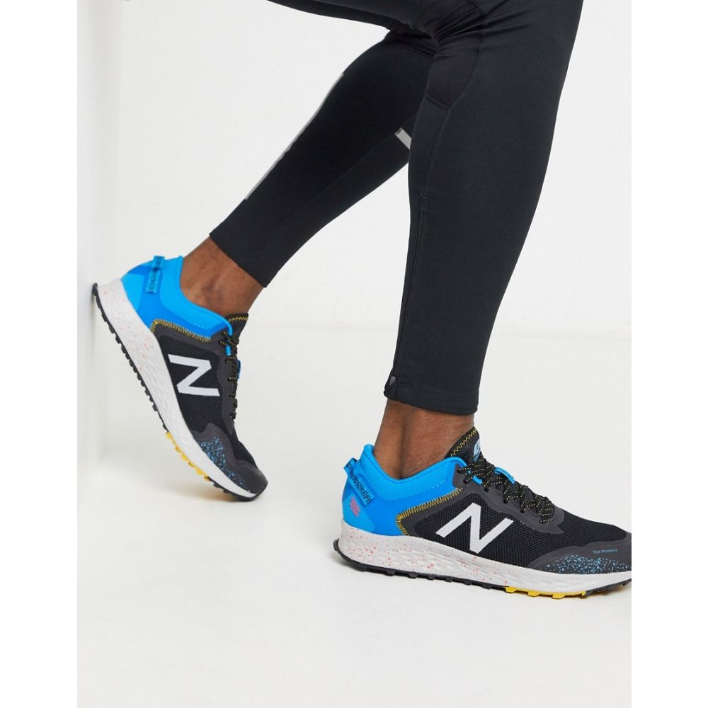 ニューバランス New Balance メンズ スニーカー シューズ・靴【freshfoam trail arishi trainers in black】Black