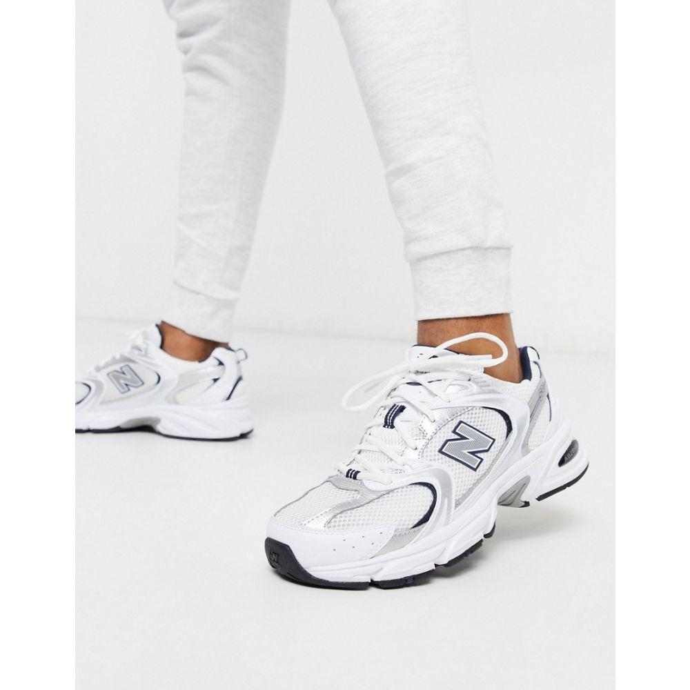 ニューバランス New Balance メンズ スニーカー シューズ・靴【530 trainers in silver】Silver