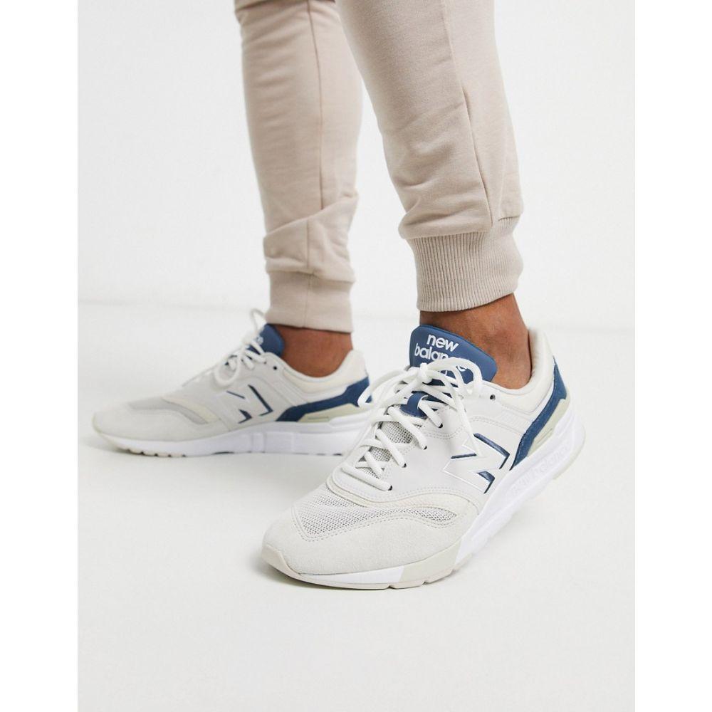 ニューバランス New Balance メンズ スニーカー シューズ・靴【997H trainers in blue】White