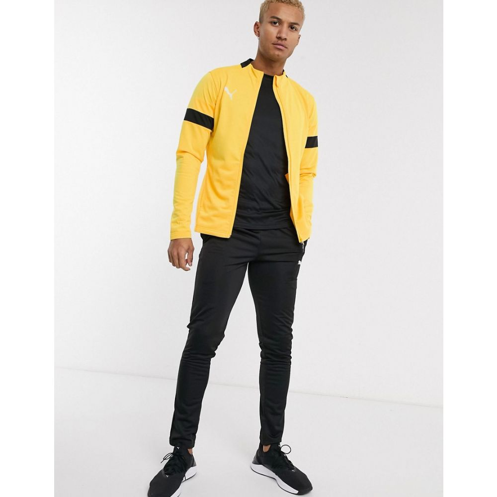プーマ Puma メンズ ジャージ アウター【Football tracksuit in yellow】Yellow