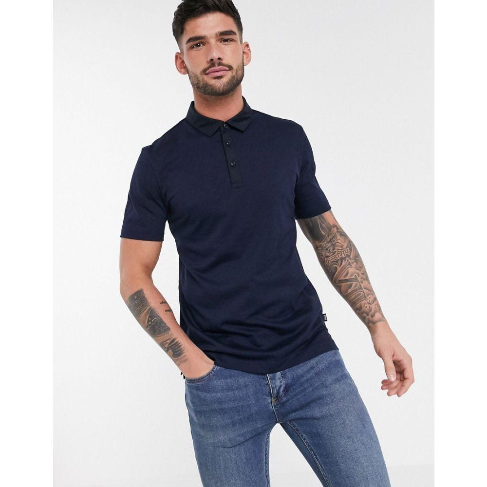ヒューゴ ボス BOSS メンズ ポロシャツ トップス【Plummer polo shirt】Blue