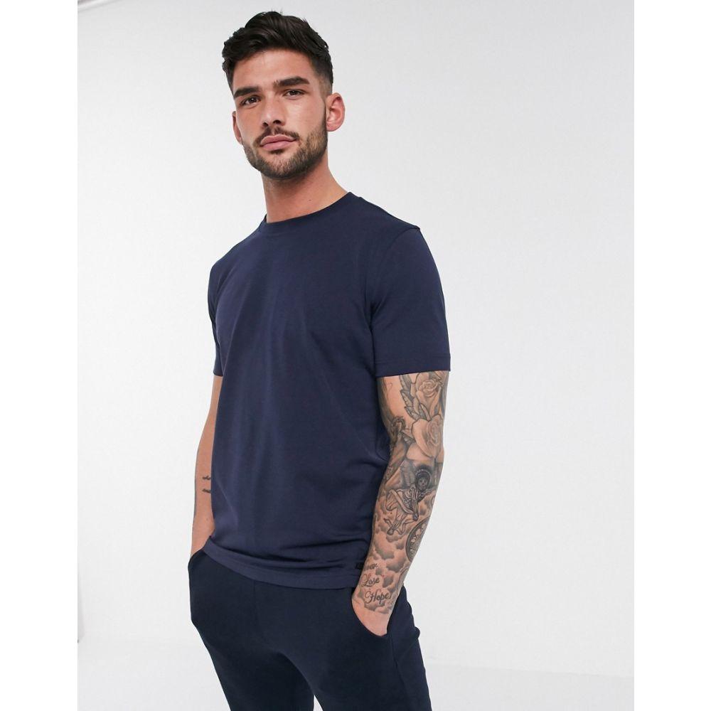 ヒューゴ ボス BOSS メンズ Tシャツ トップス【TChip t-shirt】Blue