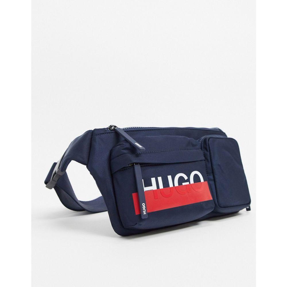 ヒューゴ ボス BOSS メンズ ボディバッグ・ウエストポーチ バッグ【HUGO Roteliebe bum bag】Navy
