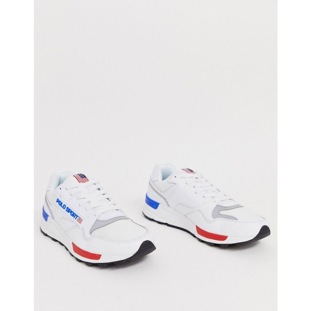 ラルフ ローレン Polo Ralph Lauren メンズ スニーカー シューズ・靴【sport trackster 100 trainer in red/blue】Red