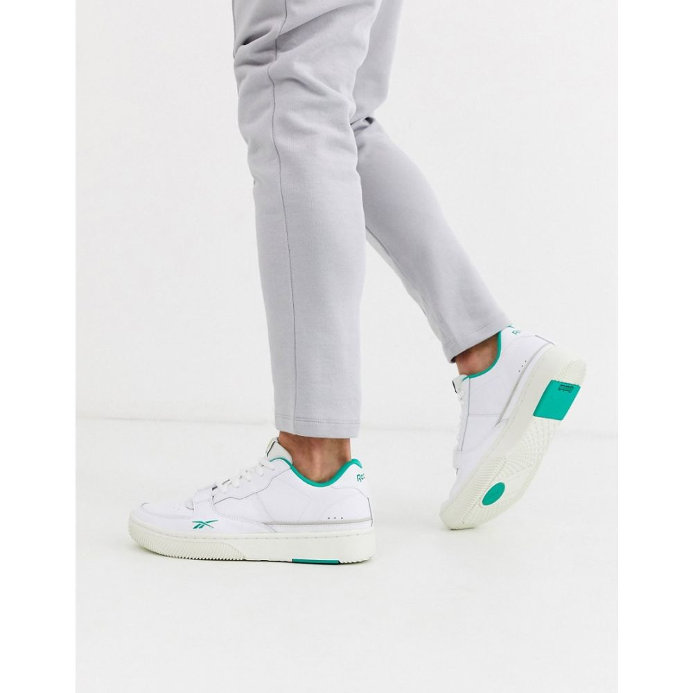 リーボック Reebok メンズ スニーカー シューズ・靴【Dualcourt trainers in white】white
