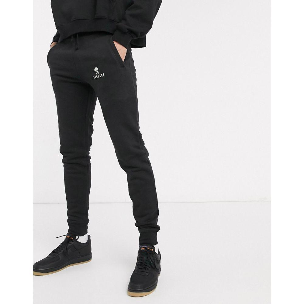 ボウル カット Bowlcut メンズ ジョガーパンツ ボトムス・パンツ【joggers with logo in black】Black