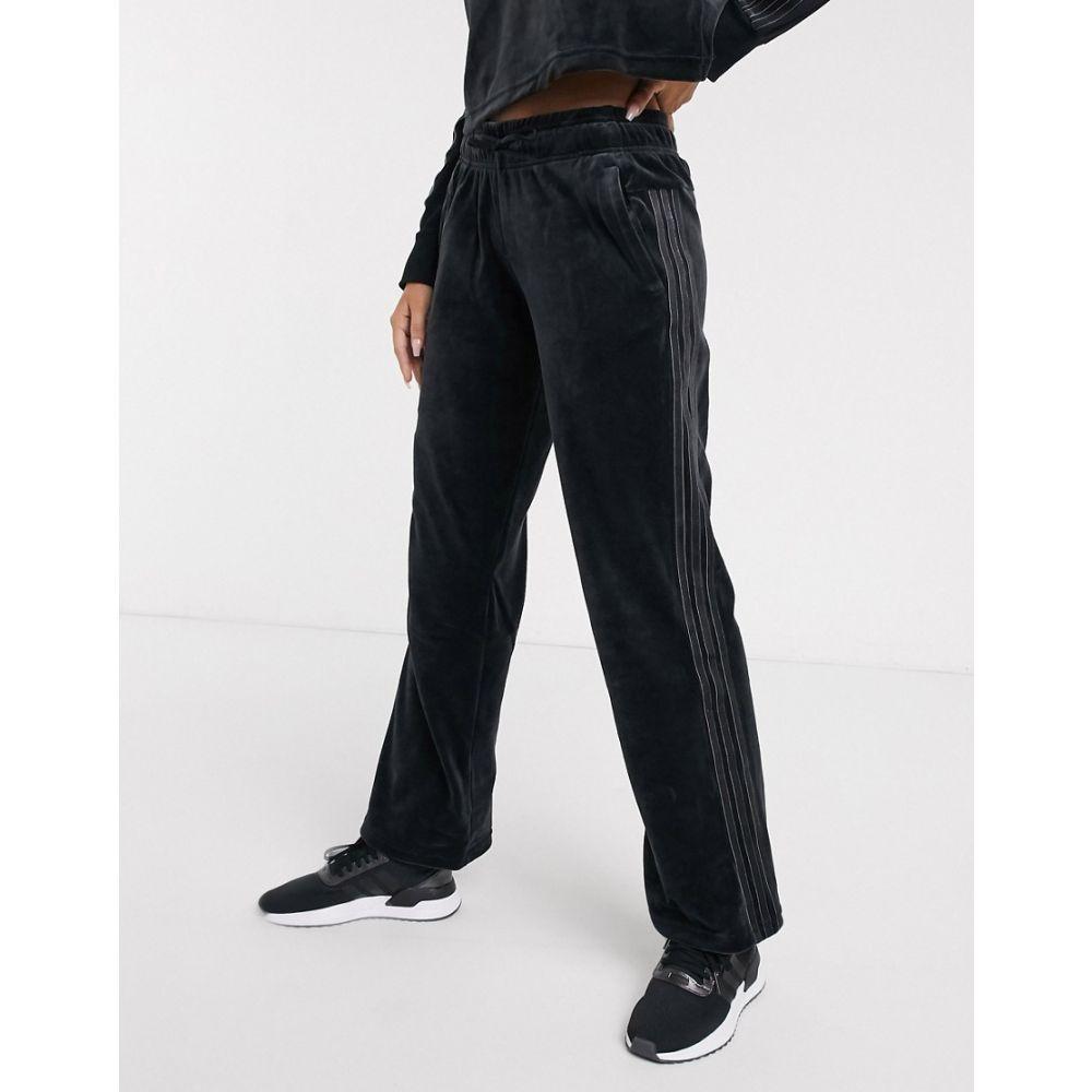 アディダス adidas performance レディース スウェット・ジャージ ボトムス・パンツ【adidas Sid sweat pants in black】Black