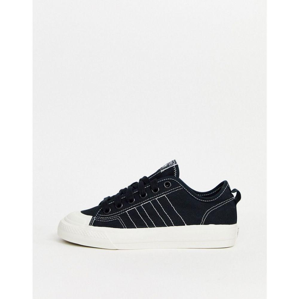 アディダス adidas Originals レディース スニーカー シューズ・靴【Nizza trainers in black】Black