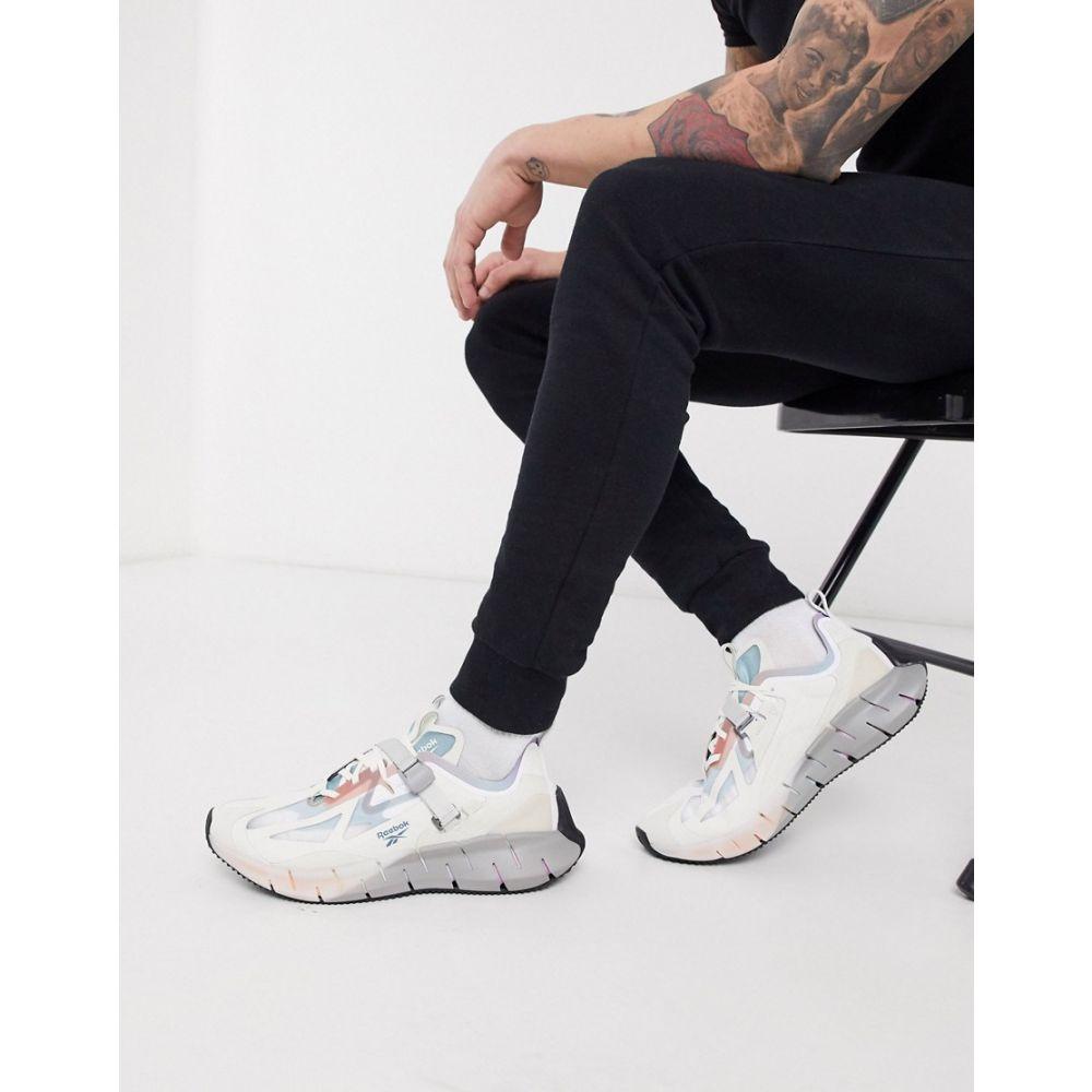 リーボック Reebok メンズ ランニング・ウォーキング シューズ・靴【Running Zig Kinetica x Ian Paley trainers in white】White