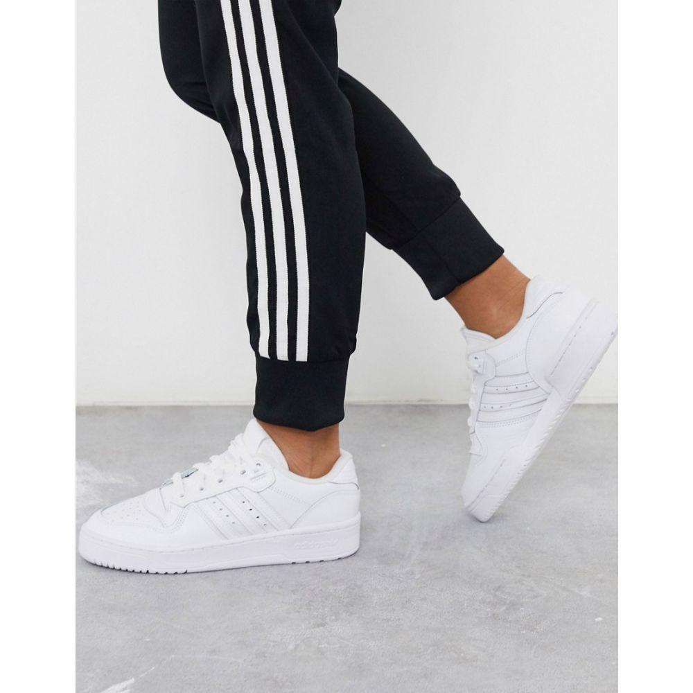 アディダス adidas Originals レディース スニーカー シューズ・靴【Rivalry Low trainers in white】White