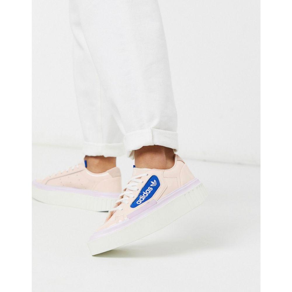 アディダス adidas Originals レディース スニーカー シューズ・靴【Hyper Sleek platform trainers in pink】Pink