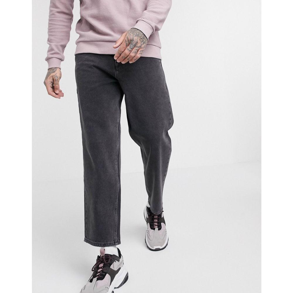 リクレイム ヴィンテージ Reclaimed Vintage メンズ ジーンズ・デニム ボトムス・パンツ【classic fit jeans in washed black】Black