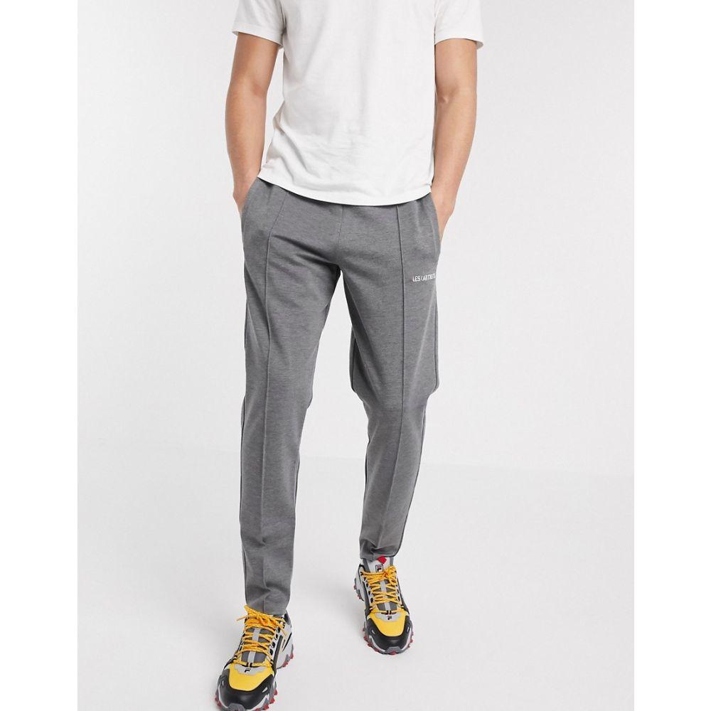レスアーティスト Les (Art)ists メンズ ジョガーパンツ ボトムス・パンツ【track pants in grey】Grey