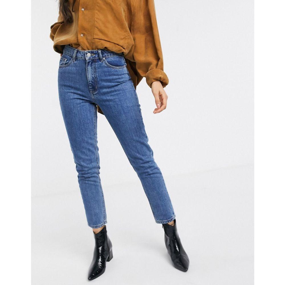 ヴェロモーダ Vero Moda レディース ジーンズ・デニム ボトムス・パンツ【high waist mom jean in blue】Blue