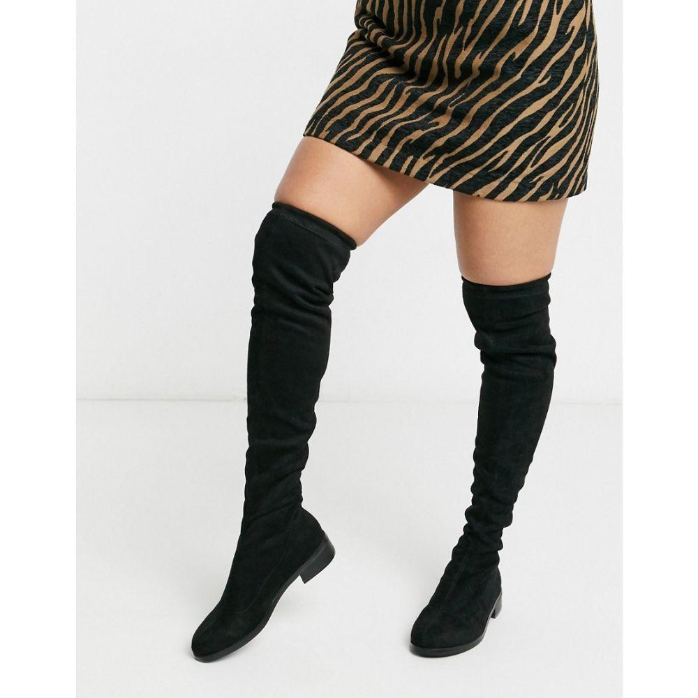 ヴェロモーダ Vero Moda レディース ブーツ ニーハイブーツ シューズ・靴【over the knee boots】Black