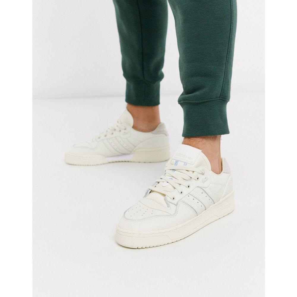 アディダス adidas Originals メンズ スニーカー シューズ・靴【Rivalry low trainers in suede】Wh - white