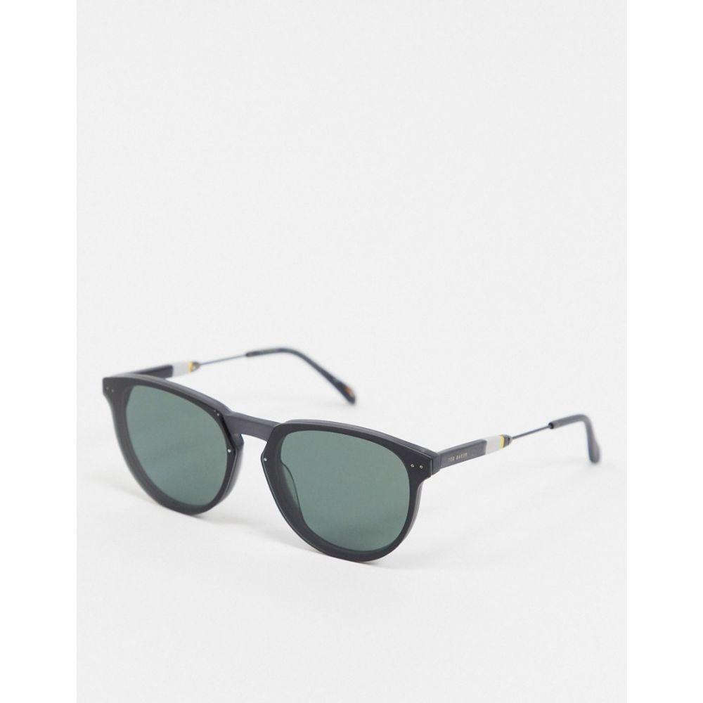 テッドベーカー Ted Baker メンズ メガネ・サングラス ラウンド【round sunglasses in grey】Grey