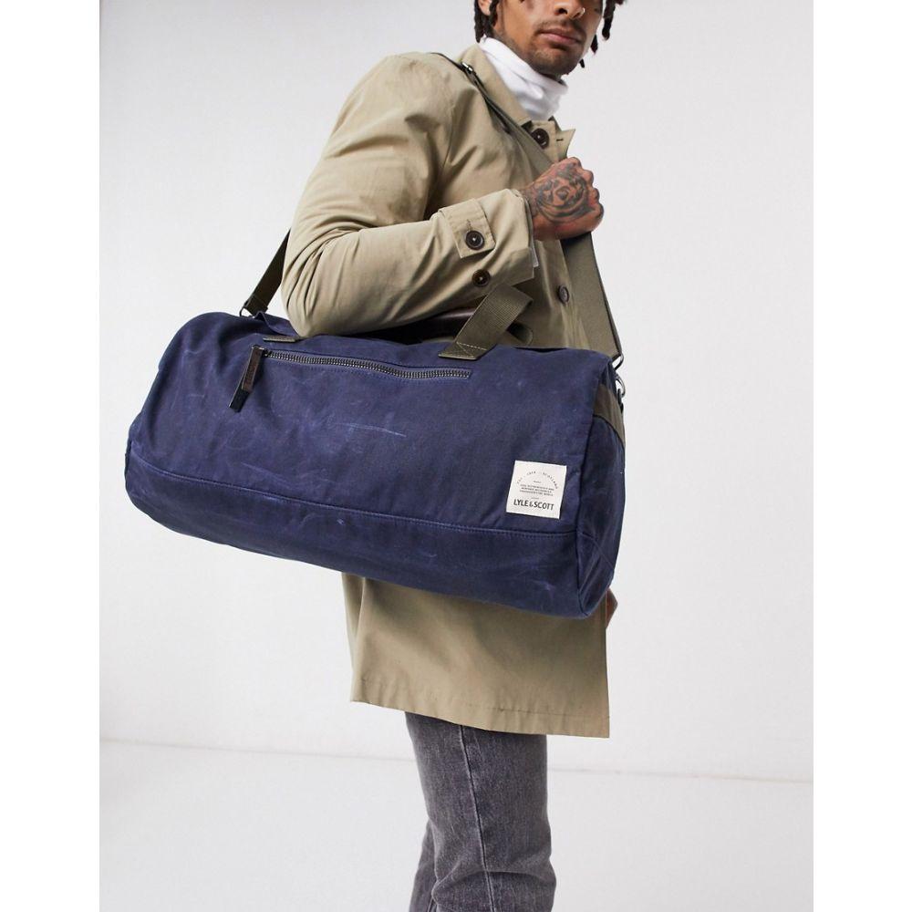 ライル アンド スコット Lyle & Scott メンズ ボストンバッグ・ダッフルバッグ バッグ【overnight bag】Navy