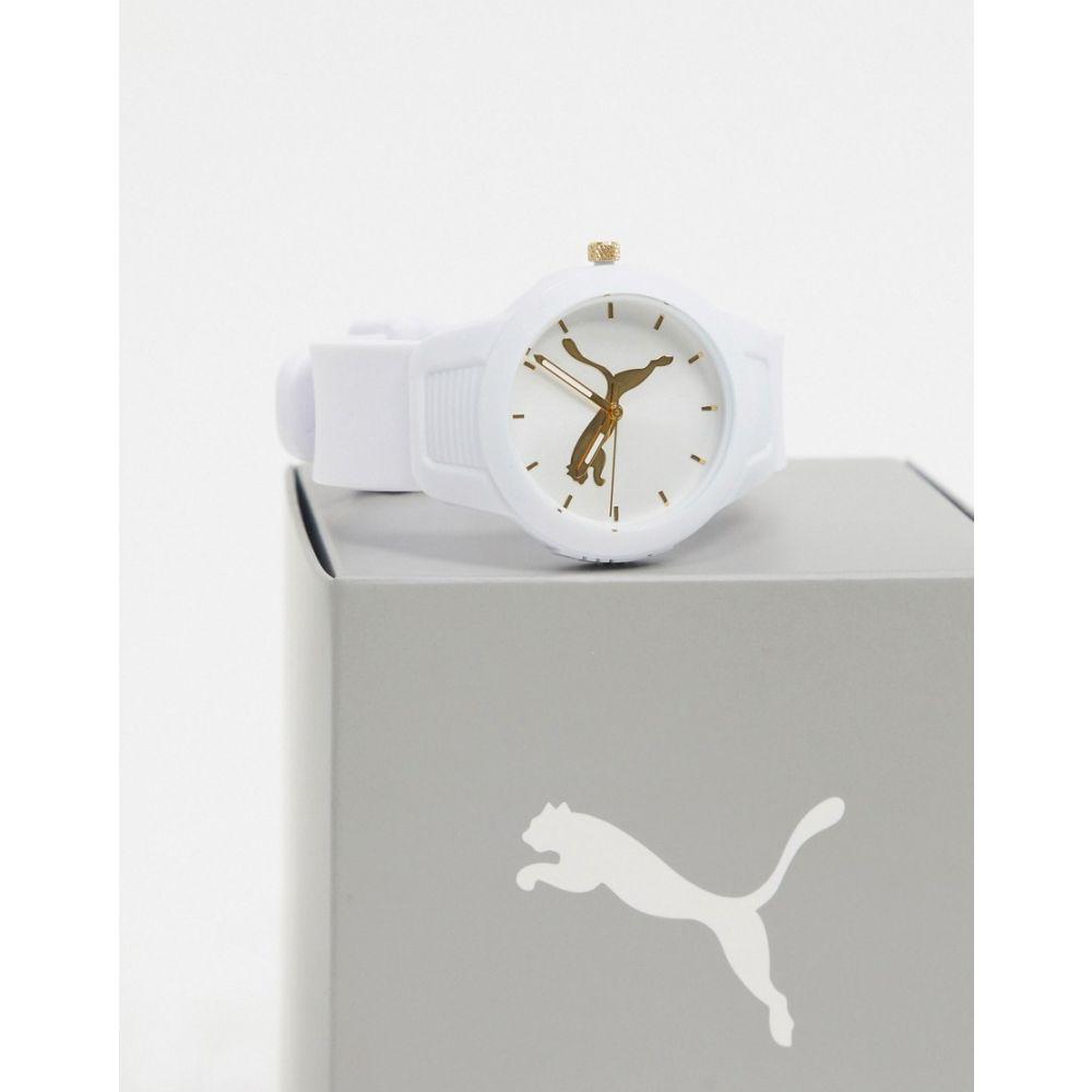 プーマ Puma メンズ 腕時計 【reset logo watch in white P1013】White