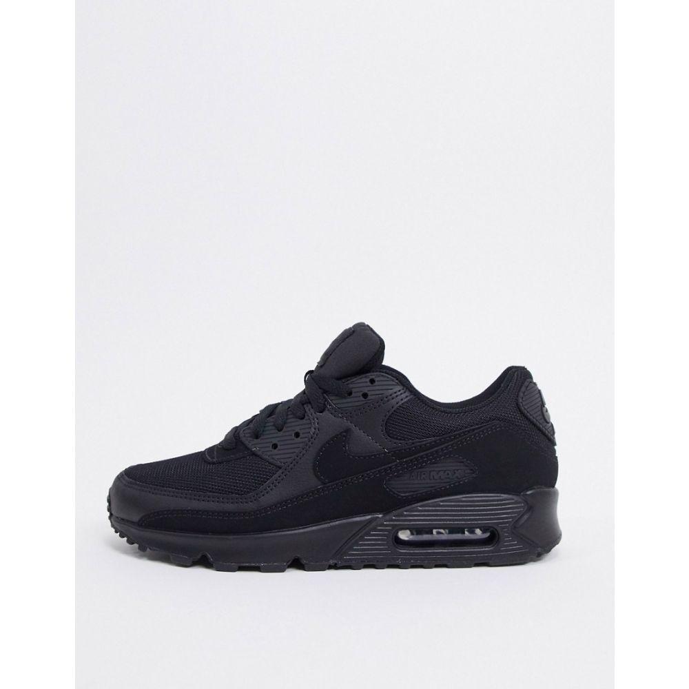 ナイキ Nike メンズ スニーカー エアマックス 90 シューズ・靴【Air Max 90 Recraft trainers in triple black】Black