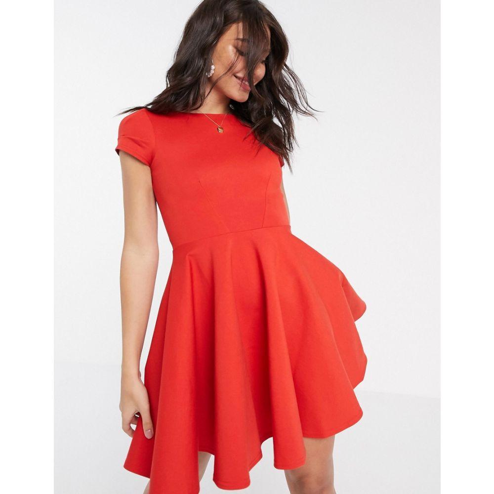 クローゼットロンドン Closet London レディース ワンピース スケータードレス ワンピース・ドレス【Closet short sleeve skater dress in red】Red