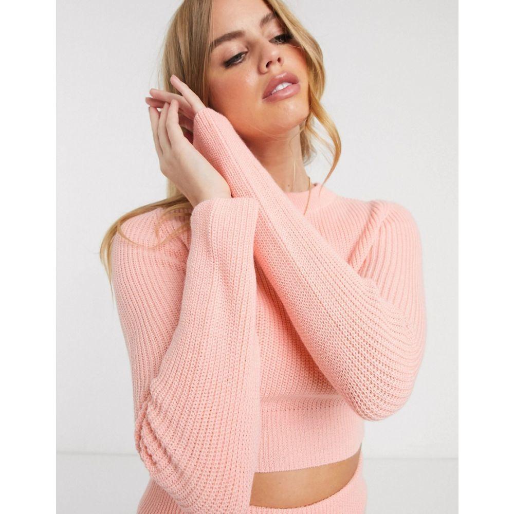 エイソス ASOS DESIGN レディース ニット・セーター トップス【lounge knitted jumper】Peach