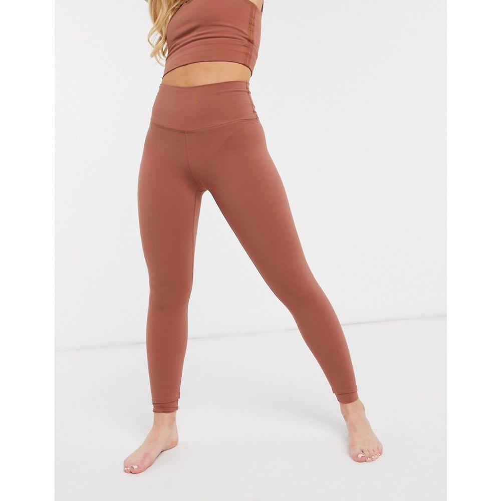 ナイキ Nike Training レディース スパッツ・レギンス インナー・下着【Nike Yoga Luxe cropped leggings in red】Red