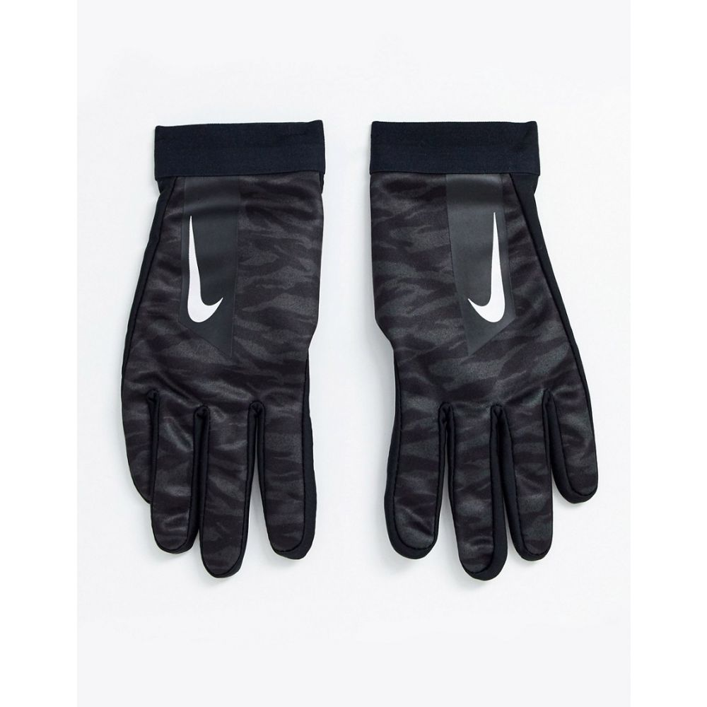 ナイキ Nike Football メンズ サッカー グローブ【hyperwarm academy gloves in black camo print】Black