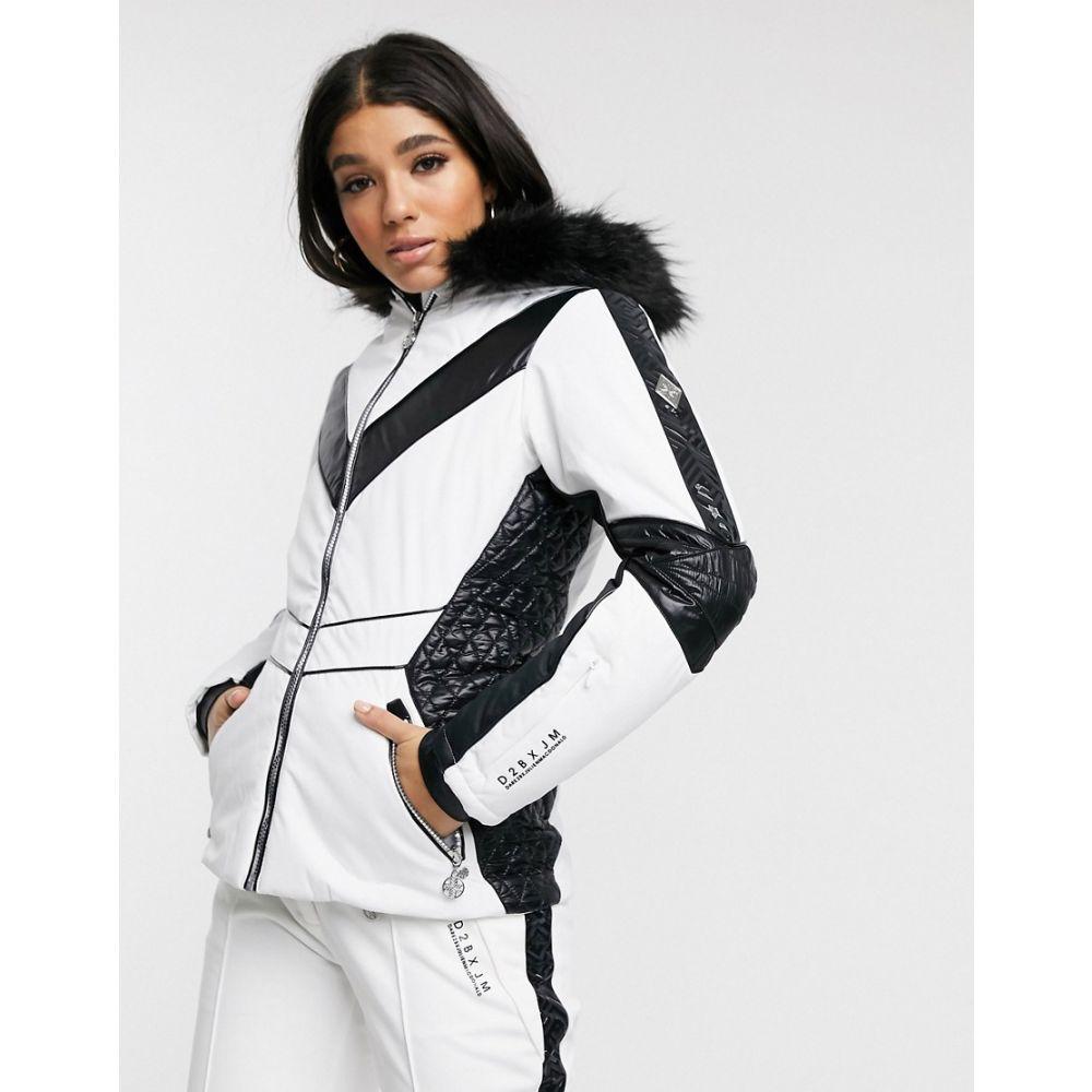 デア トゥビー Dare 2b レディース スキー・スノーボード ジャケット アウター【X Julien Macdonald Emperor ski jacket in white】White