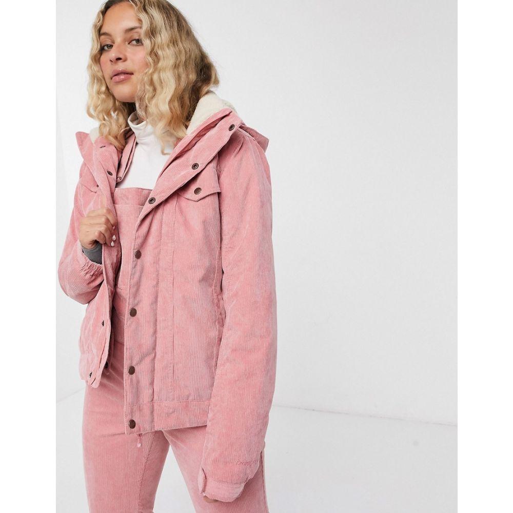 プロテスト Protest レディース ジャケット アウター【Cutie cord jacket in pink】Pink