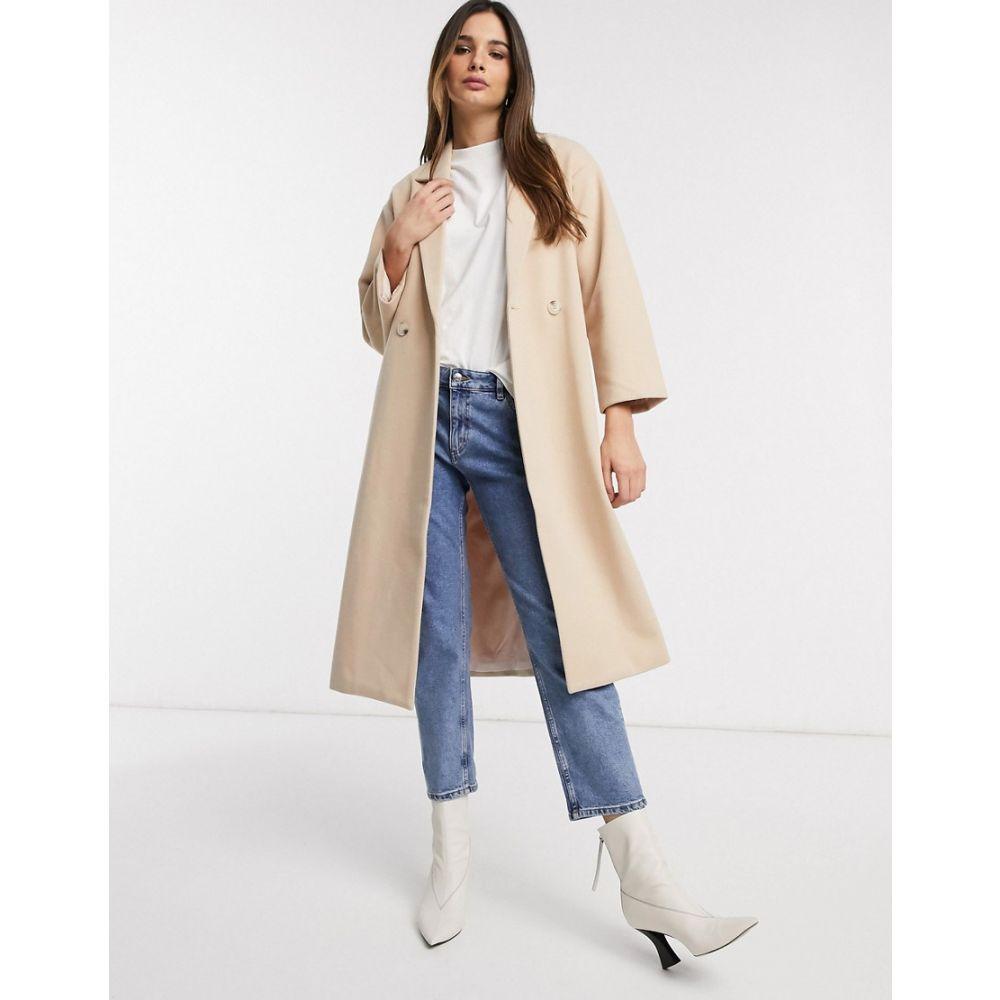 ワイ エー エス Y.A.S レディース コート アウター【oversized coat in tailored fabric in tan】Tan