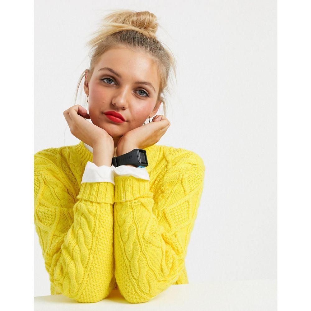 ラルフ ローレン Polo Ralph Lauren レディース ニット・セーター トップス【cable jumper in pop yellow】Lemon crush