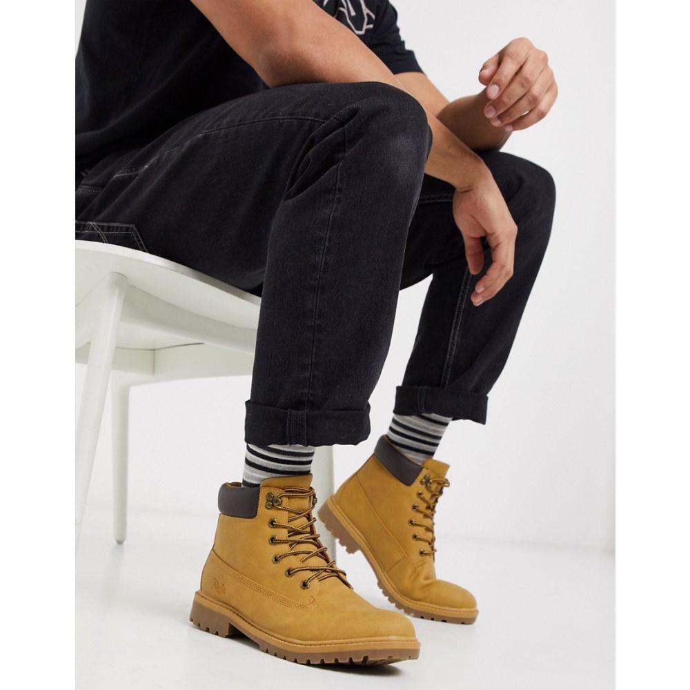ルールロンドン Rule London メンズ ハイキング・登山 ブーツ シューズ・靴【hiker boot in tan】Tan