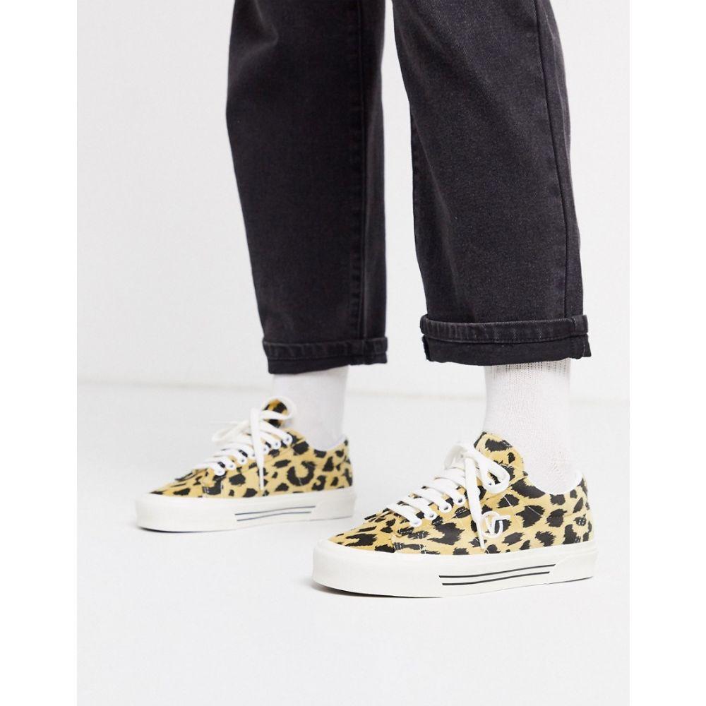 ヴァンズ Vans レディース スニーカー シューズ・靴【Anaheim Sid DX trainers in leopard】