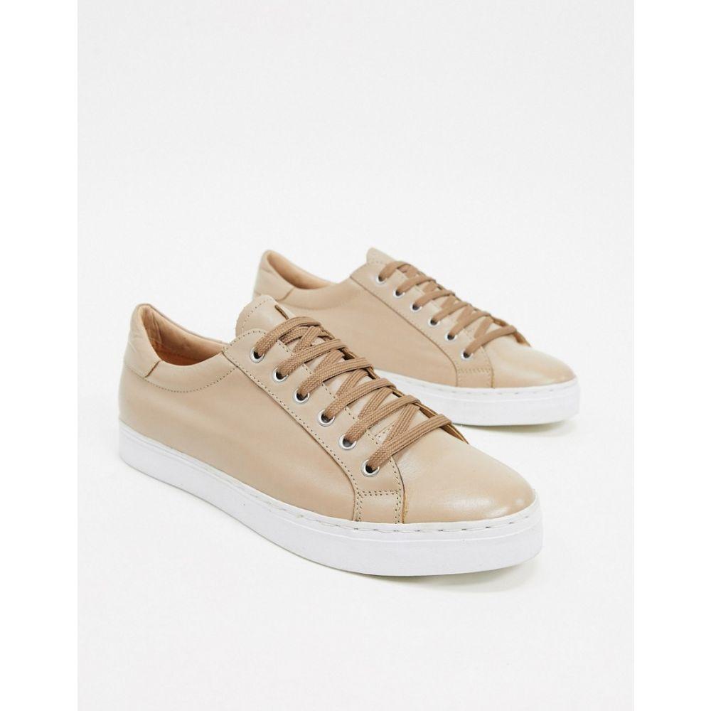 ルールロンドン Rule London メンズ スニーカー シューズ・靴【leather trainer in beige】Beige