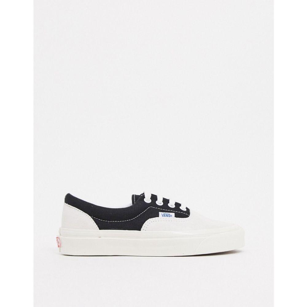 ヴァンズ Vans レディース スニーカー シューズ・靴【Anaheim Era 95 DX trainers in white/black】