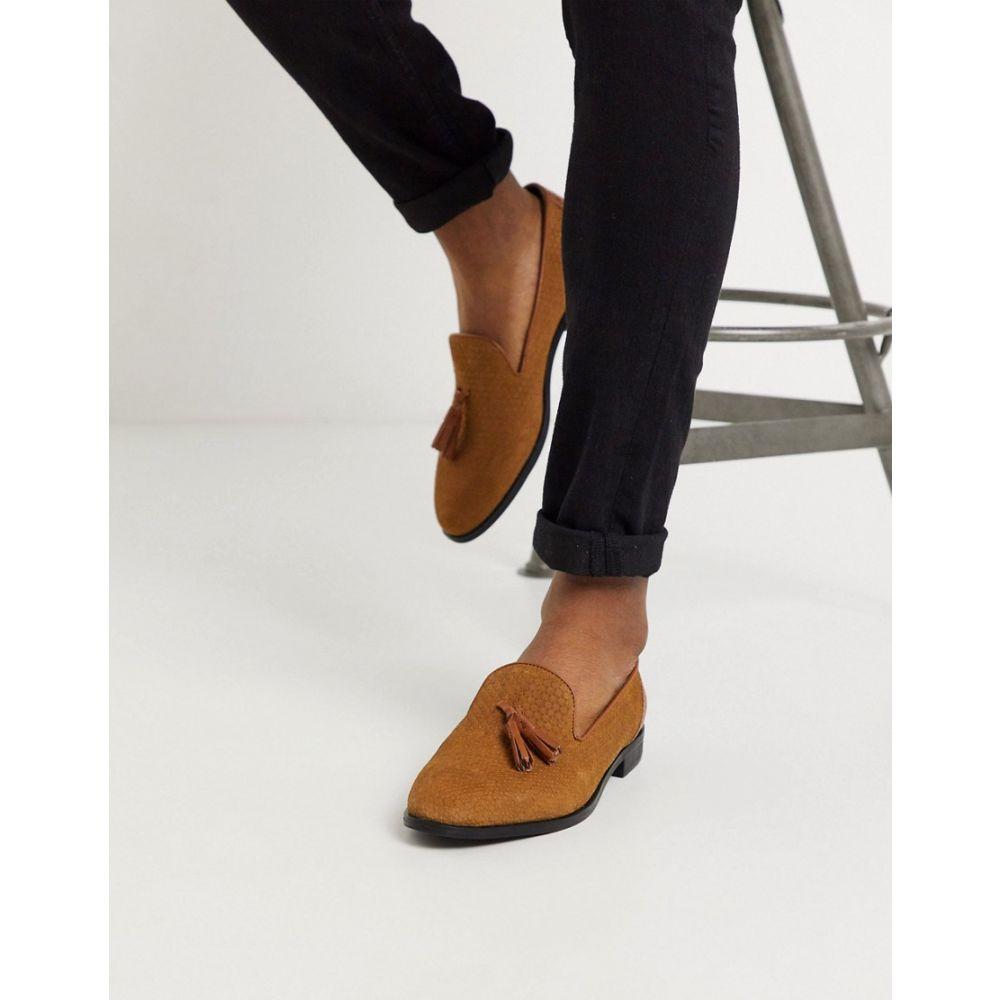 ハウスオブハウンズ House of Hounds メンズ ローファー シューズ・靴【arrow tassel loafers in tan】Tan