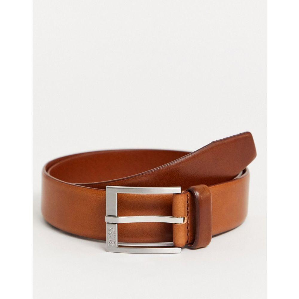 ヒューゴ ボス BOSS メンズ ベルト 【Erron leather belt in tan】Tan